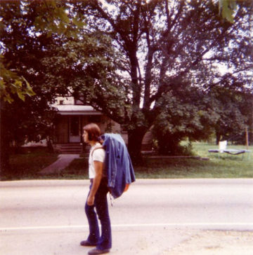 1971: Illinois Rte. 120. On the way out. Before joining the cook's world.