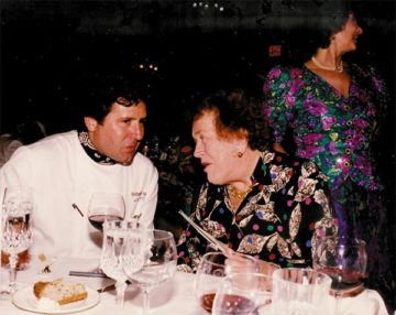 With Julia Child