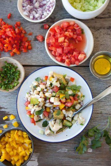 Conch Salad | Photo credit Penny de los Santos