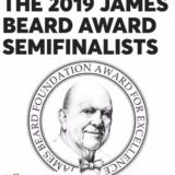 "James Beard Awards, 2019 Semi-Finalist, ""Outstanding Restaurant"" In America"