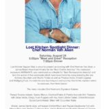 Lost Kitchen Supper Club Event in Key West!